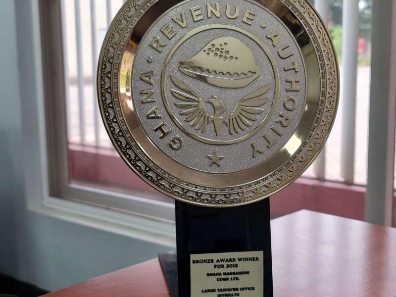 Ghana Revenue Authority Bronze Award winner (2016)